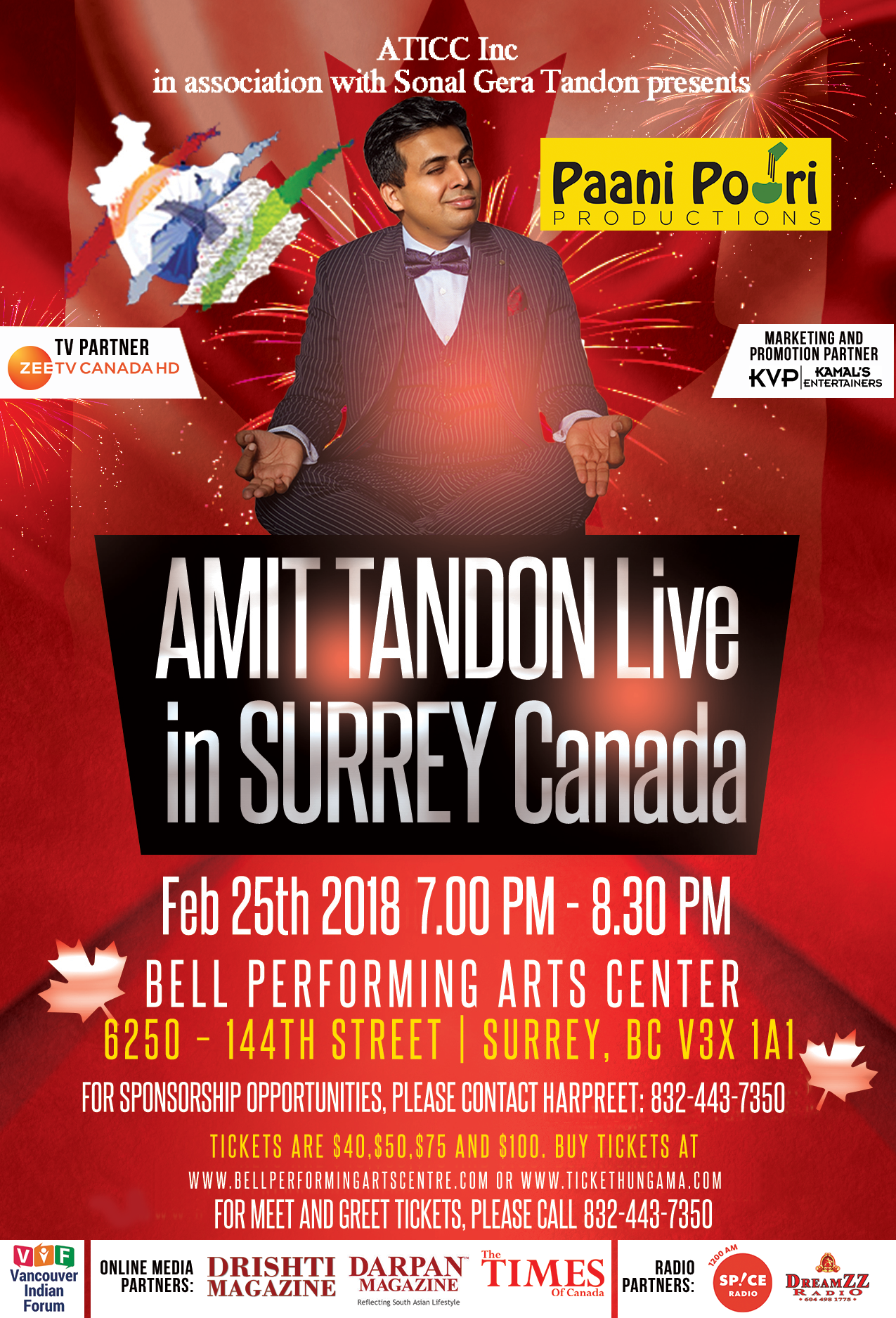 Amit Tandon new time